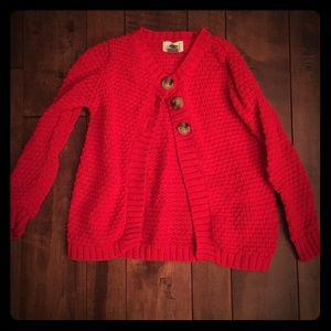 Red Knot Sweater 5T